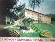 25 Rokov-Gumárne 1.Mája Púchov.