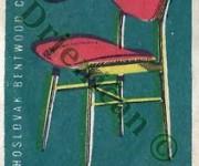 Ligna,Czechoslovakia Bentwood Chairs.