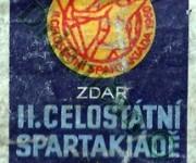 II. Celostátní Spartakiáda 1960, Zdar II Celostátní Spartakiádě,1960 Praha.