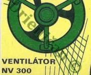 Ventilátor-NV 300,NV 250,NV 200,-Strojsmalt n.p. Pohorelá.