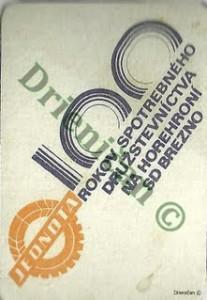 Jednota-100 Rokov Spotrebného Družstevníctva na Horehroní,SD Brezno.