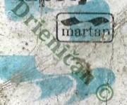 Martan,svieže farebné tapety.Turčianské celulózky a papierne n.p. Martin.