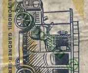1901,Parní automobil Gardner Serpollet, -NTM Praha.