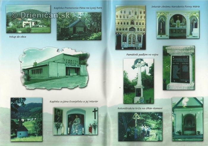Drienica,1332-2002, vnútro knihy