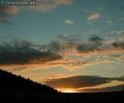 Západ slnka Drienica