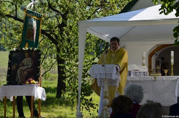 Bohoslužba pri Kapličke v Drienici,2012