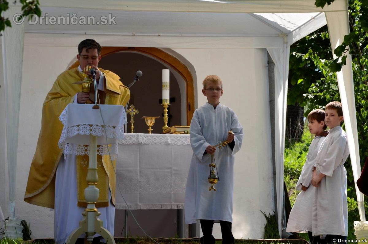 Bohosluzba pri Kaplicke v Drienici,2012_10