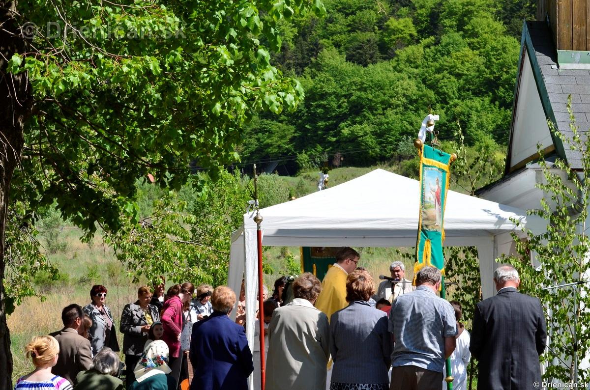 Bohosluzba pri Kaplicke v Drienici,2012_14