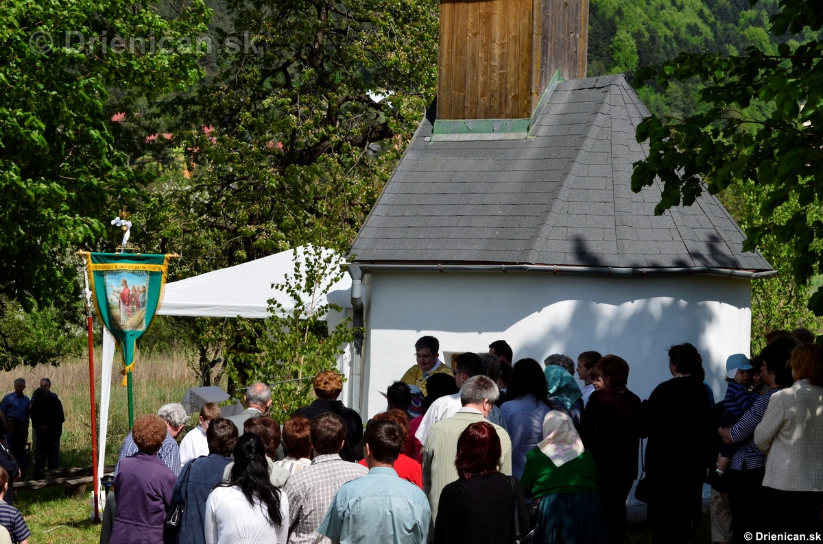 Bohosluzba pri Kaplicke v Drienici,2012_25