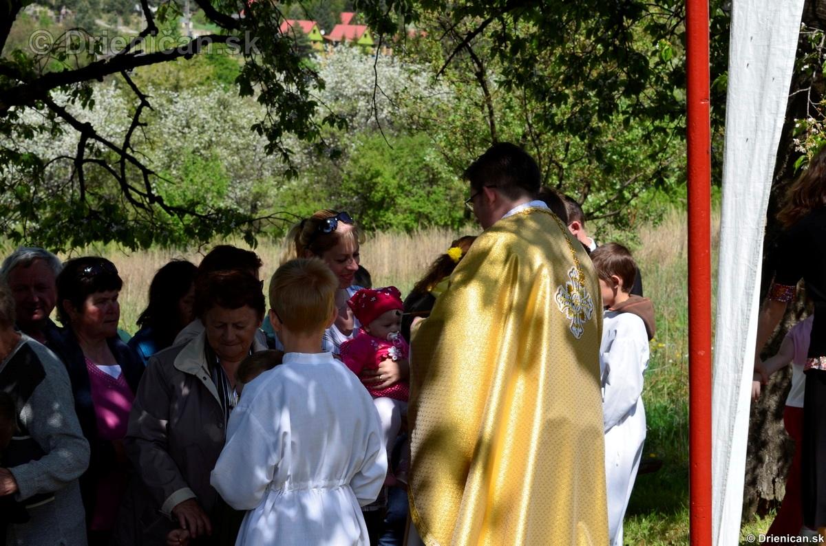 Bohosluzba pri Kaplicke v Drienici,2012_34