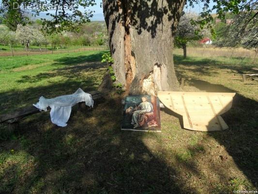 Kaplicka 2012 Drienica, predpriprava na rocnu bohosluzbu_06