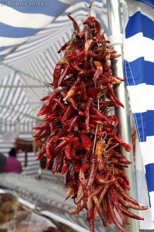 Sušené papriky pre domáce gazdinky