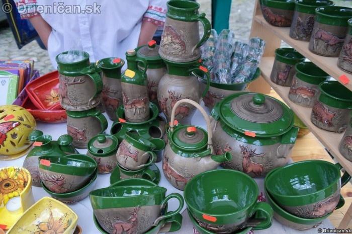 Najviac sa mi páčila keramika s poľovníckou tématikou