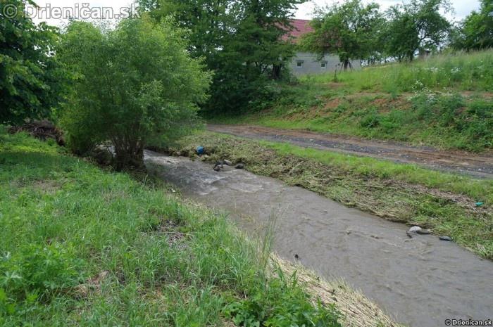 Drienica III. stupeň povodňovej aktivity, 8.jún 2012