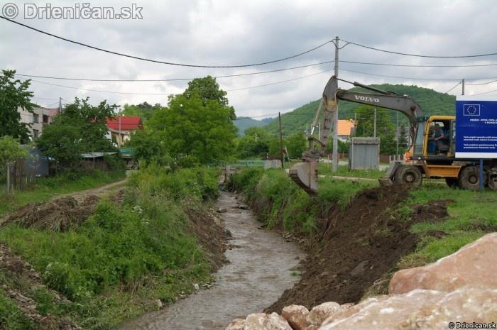 Drienica 3 stupen povodnovej aktivity 8 jun 2012_13