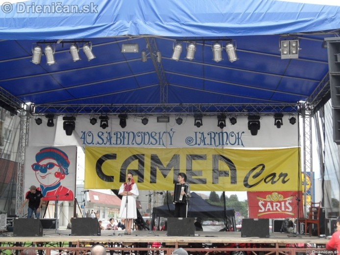 Sabinovský Jarmok 2012 úvod