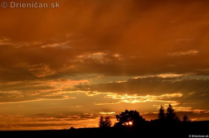 Zapad slnka nad Drienicou 2012_13