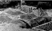 Začiatok výstavby v roku 1972