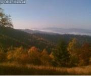 Lesy Čergova, ktoré boli jeho dočasným domovom