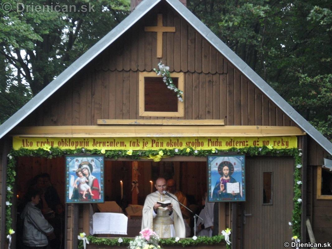Svätá liturgia pri Oltár Kameni 2012