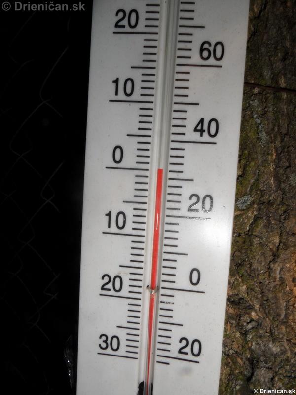 A ako nám začína mrznúť...