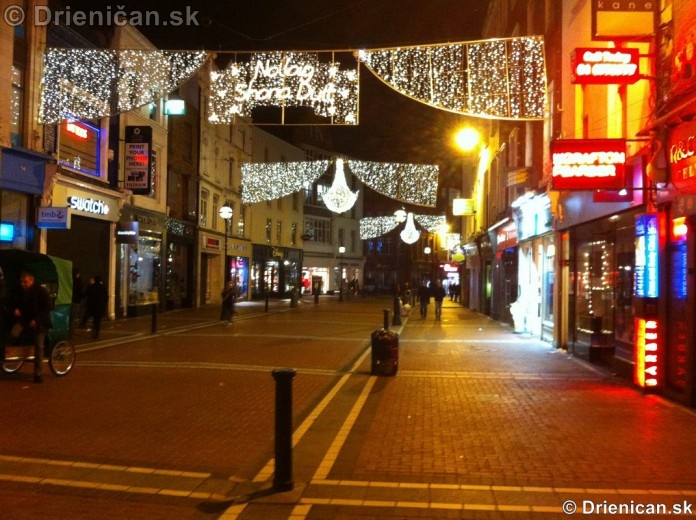 Dublin Christmas Decoration