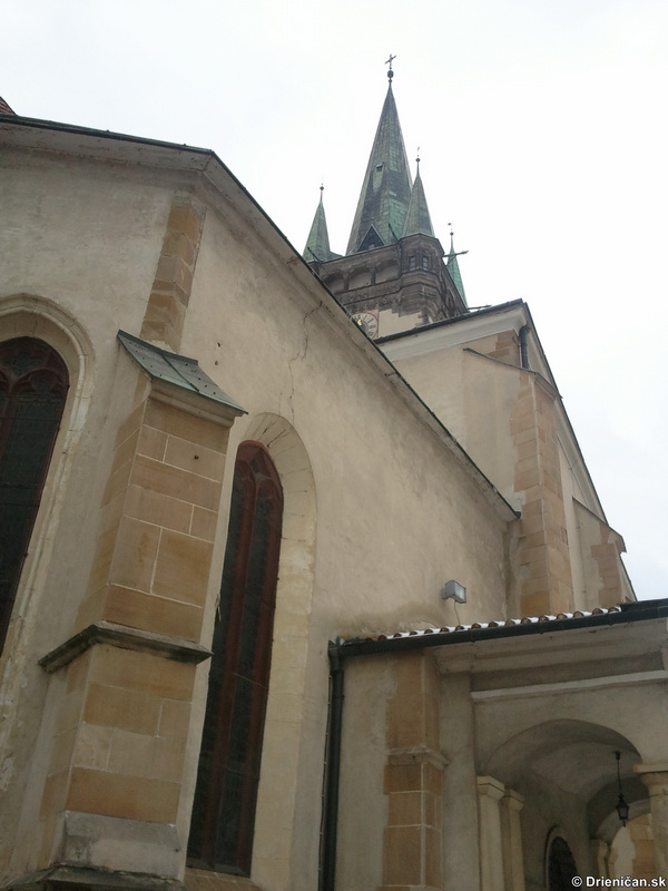 Socha Jána Pavla II. v Prešove