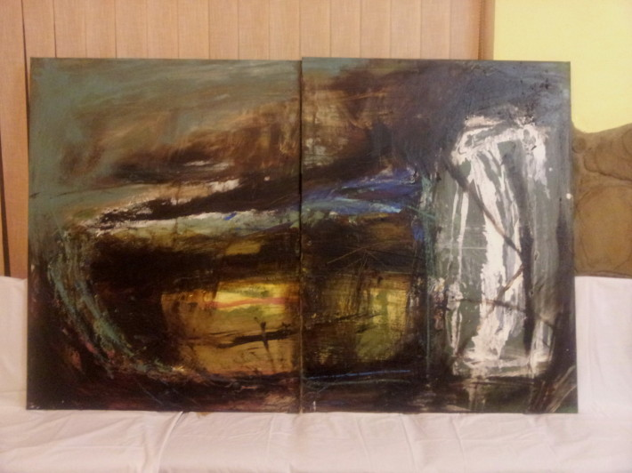 Plen malovanie vo volnej prirode marec 2013 Drienica_01
