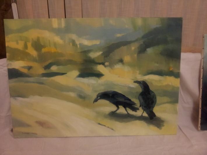Plen malovanie vo volnej prirode marec 2013 Drienica_02