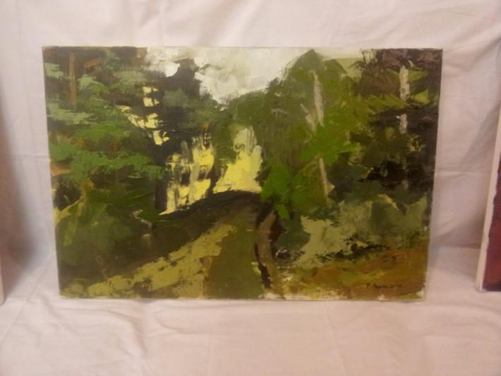 Plen malovanie vo volnej prirode marec 2013 Drienica_07