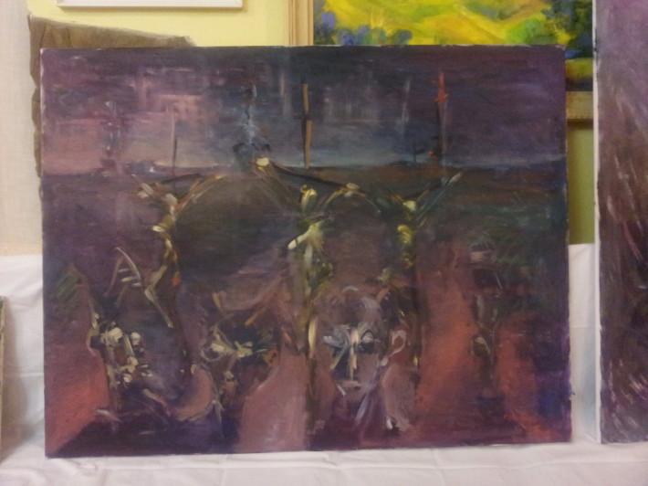Plen malovanie vo volnej prirode marec 2013 Drienica_09