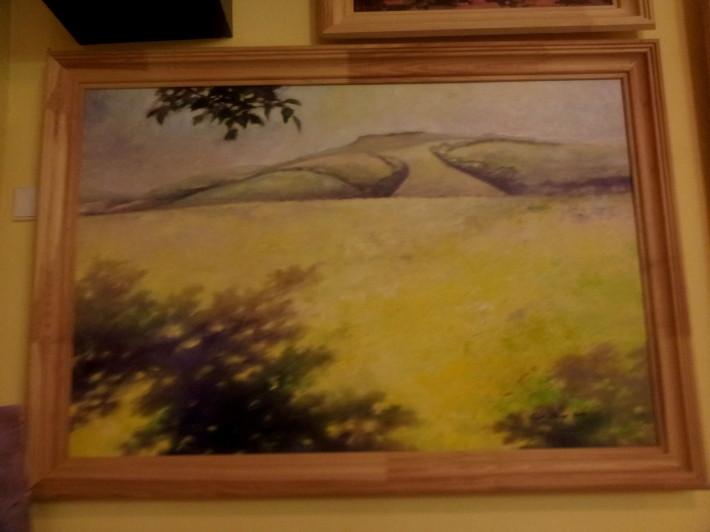 Plen malovanie vo volnej prirode marec 2013 Drienica_10