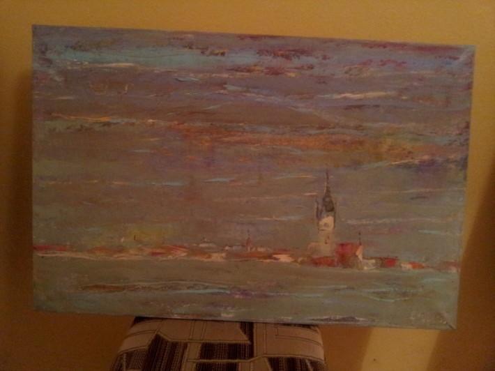 Plen malovanie vo volnej prirode marec 2013 Drienica_18