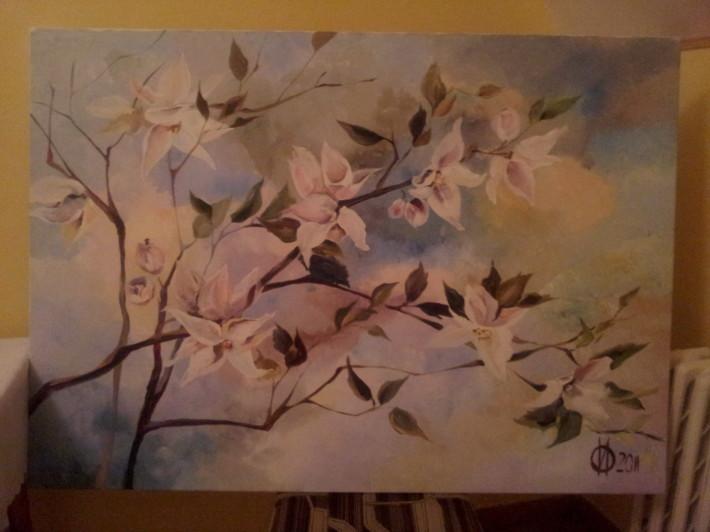 Plen malovanie vo volnej prirode marec 2013 Drienica_19
