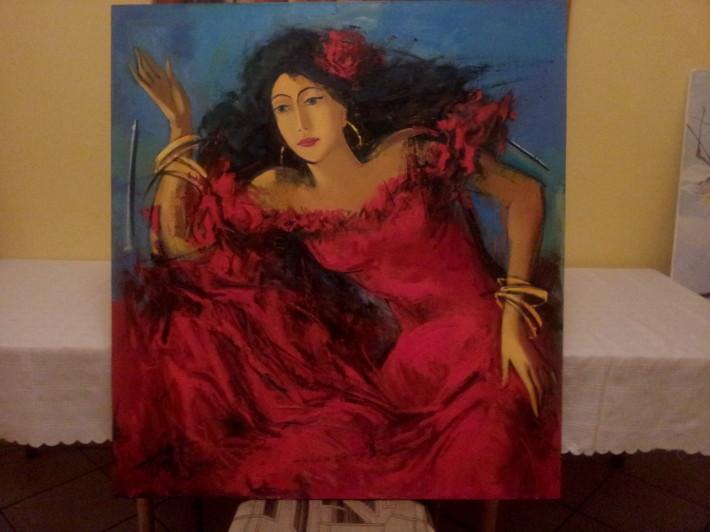 Plen malovanie vo volnej prirode marec 2013 Drienica_20