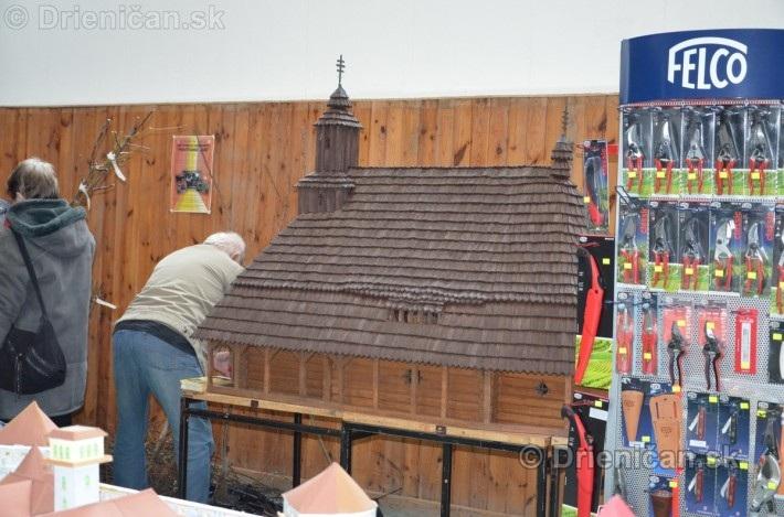 ABC stavebnictva Presov,miniatury kostolov,hradov a ludovej architektury_22