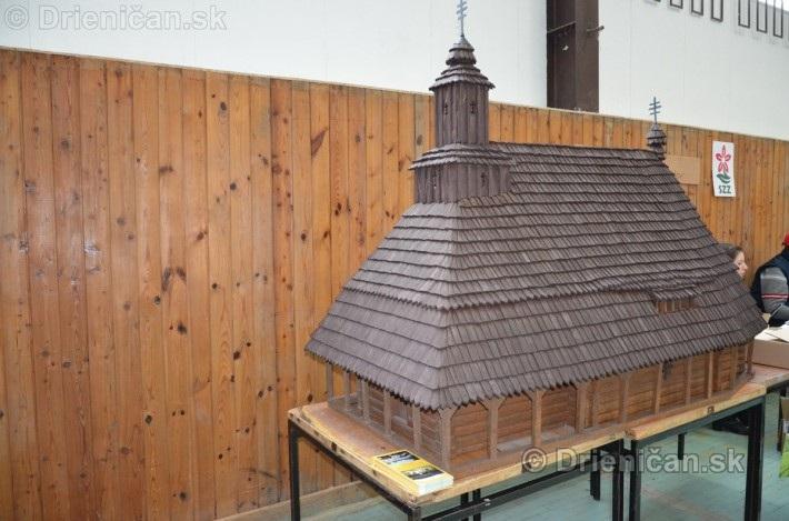 ABC stavebnictva Presov,miniatury kostolov,hradov a ludovej architektury_42