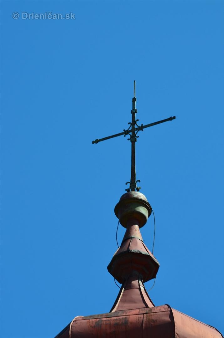 Detail na kríž...