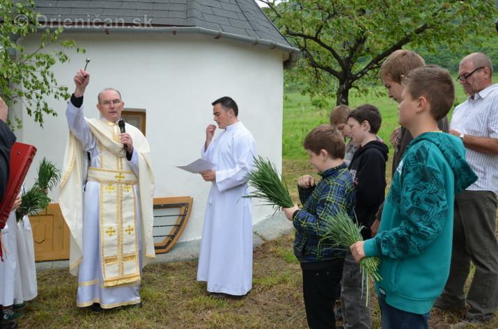 Bohoslužba pri Kapličke, Drienica 2013