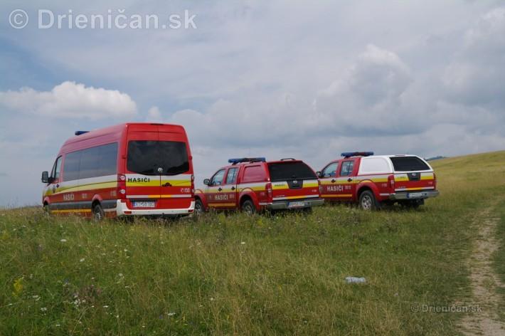 A samozrejme hasičské autá, vždy pripravené !
