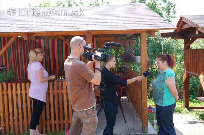 Alena Gribová v rozhovore s našou fotografkou Jankou
