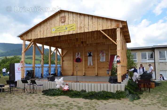 Festival folklóru Rusínov v obci Bajerovce