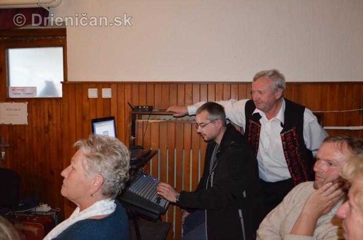 Ozvučenie zabezpečil Pavol Sedlák s vlastnou technikou a asistentom Peťom Javorským.