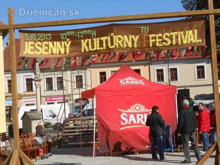 Jesenný kultúrny festival v Sabinove