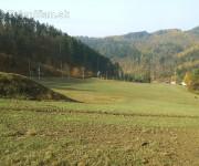 Jeseň na lyžiarskom svahu -Drienica Lysá, rekreačná oblasť