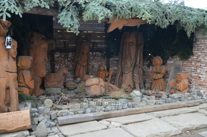 Drevený Betlehem Mareka Mikluša