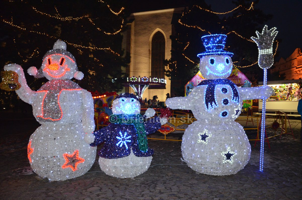 Vianočná výzdoba Prešov