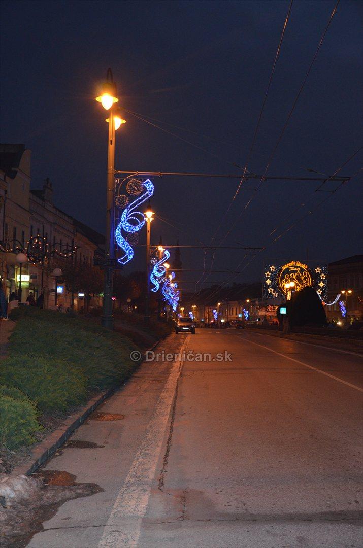 Vianočná výzdoba mesta Prešov