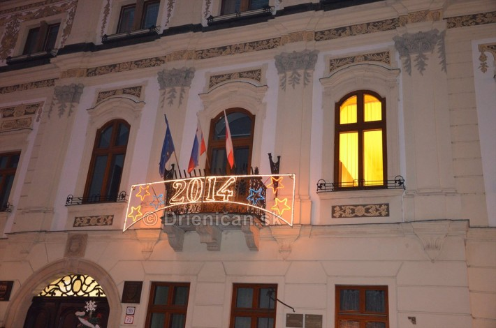 Očakávanie nadchádzajúceho roka 2014, Radnica Prešov