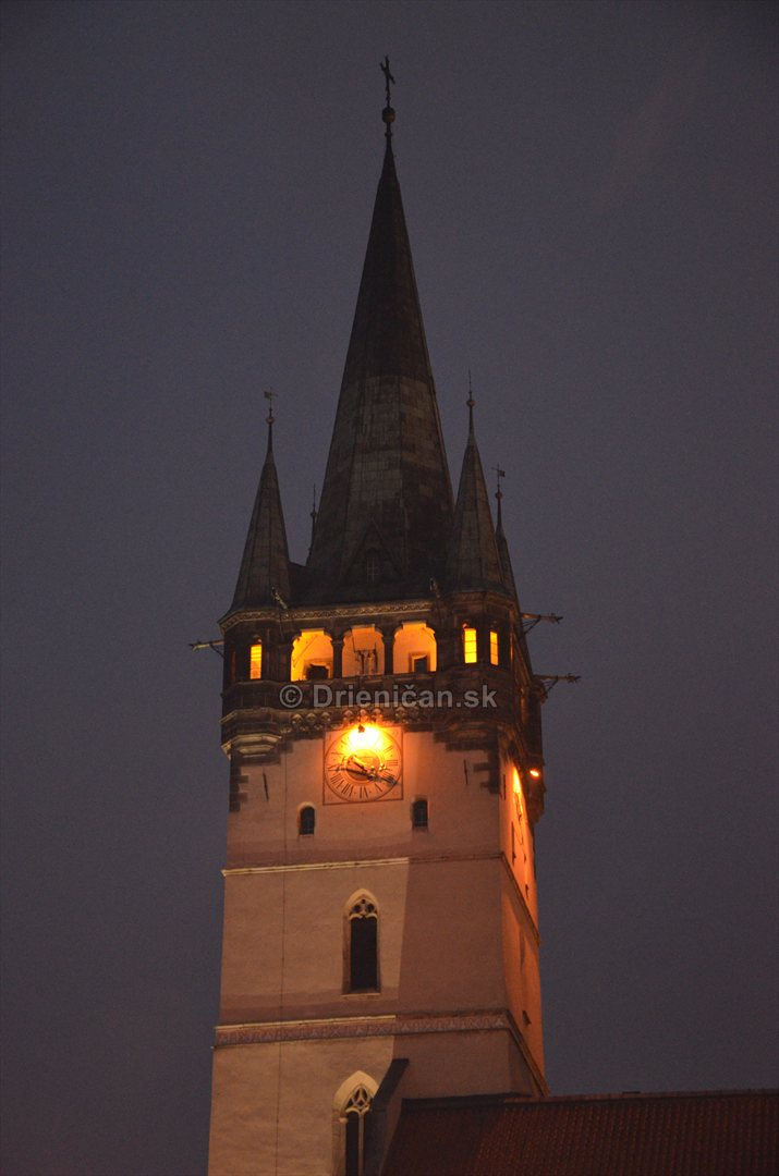 Veža kostola sv. Mikuláša v Prešove